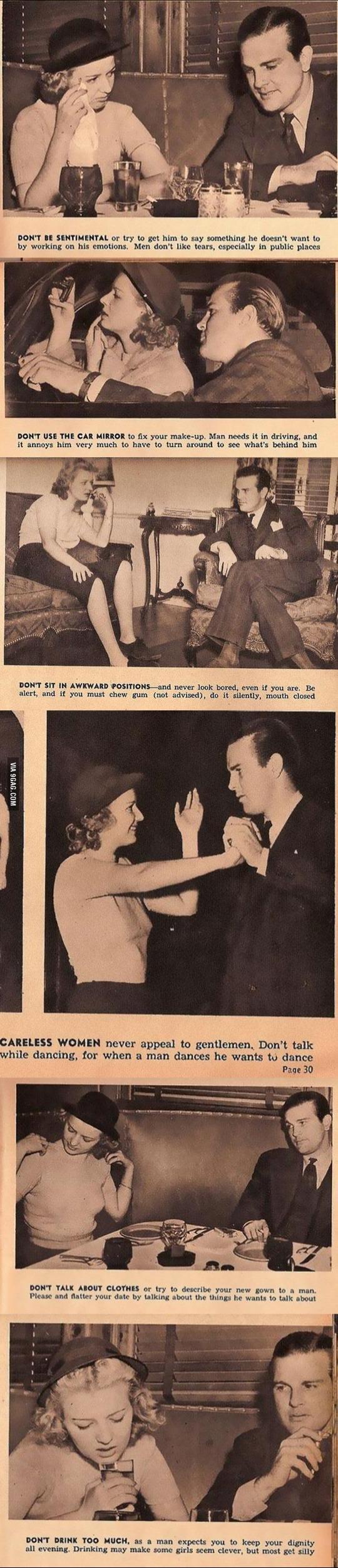 Photo of Conseils des rencontres pour dames à partir de 1938 …