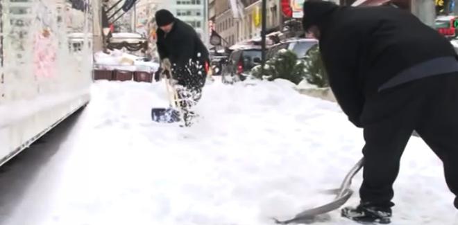 Photo of Vidéo: La ville de New York paralysée par la neige