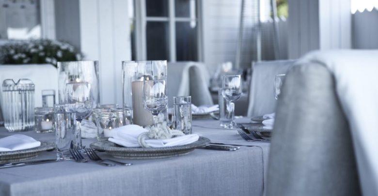 Photo of Un restaurant raffiné de Seattle, Conserve les linges de table