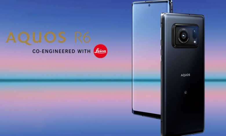 Photo of Sharp Aquos R6, un smartphone doté d'un capteur photo 1 pouce