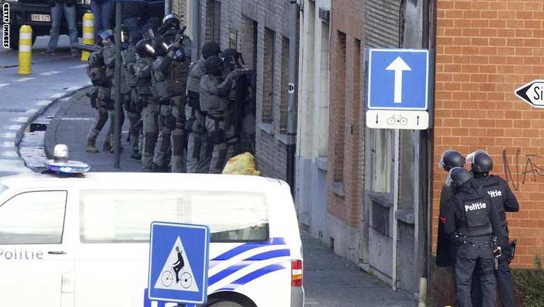 BELGIUM-CRIME-RAID